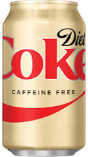 CAFFEINE DIET COKE CN 12oz