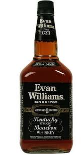 EVAN WILLIAMS BLACK BOURBON 1L