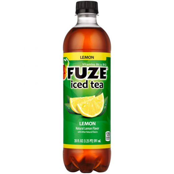FUZE ICE TEA LEM PET 20oz