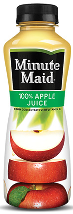 MMAID APPLE JUICE BTL 12Z