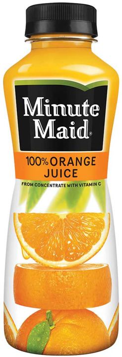 MMAID ORANGE PET BTL 12oz
