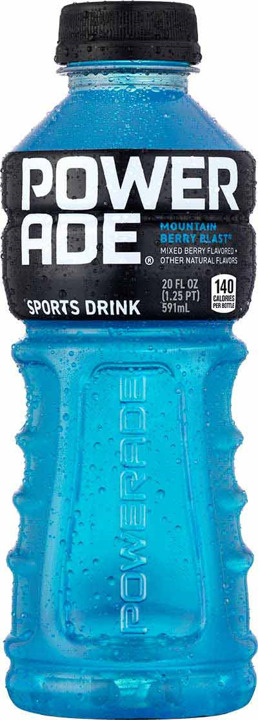 POWERADE MTN BRY BL 20Z PET