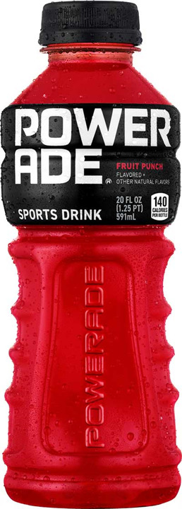 POWERADE FRUIT PUNCH 20Z PET
