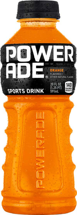 POWERADE ORANGE 20Z PET
