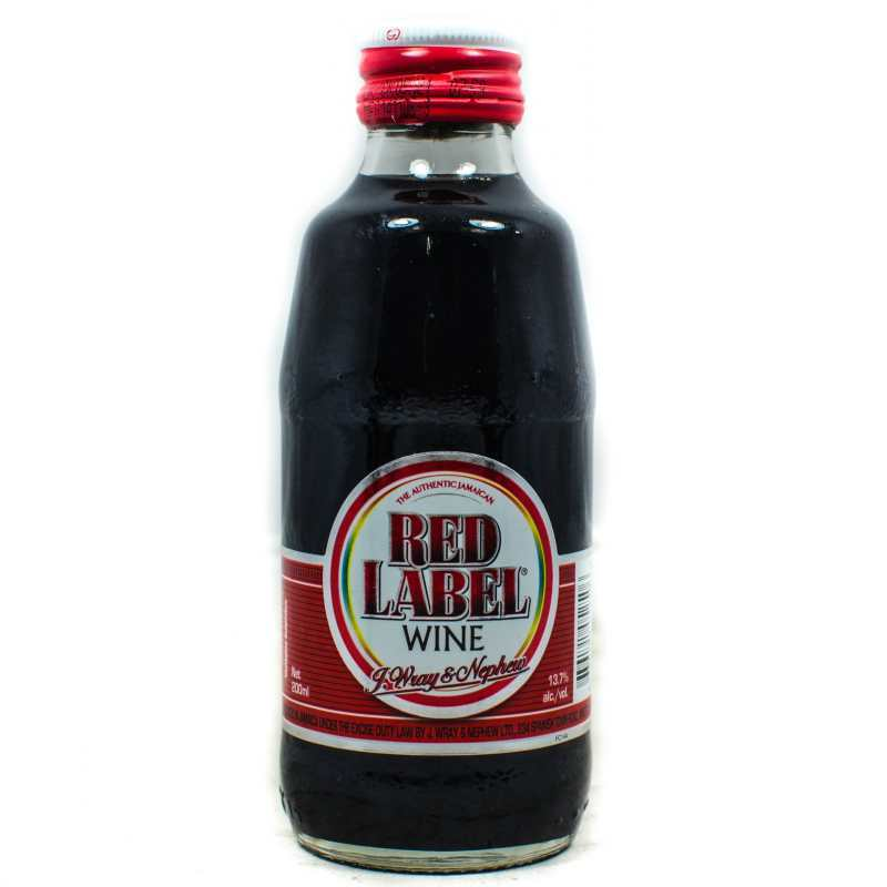 RED LABEL WINE 24X200ML