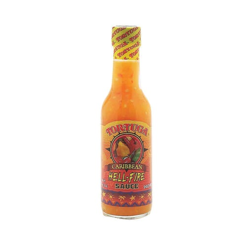 TORTUGA HELL FIRE SCOTCH BONNET SAUCE