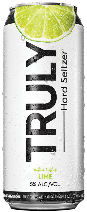 TRULY LIME SELTZER