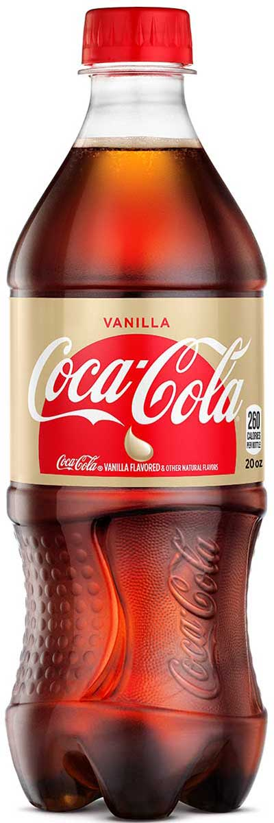 VANILLA COKE 20OZ BOTTLE